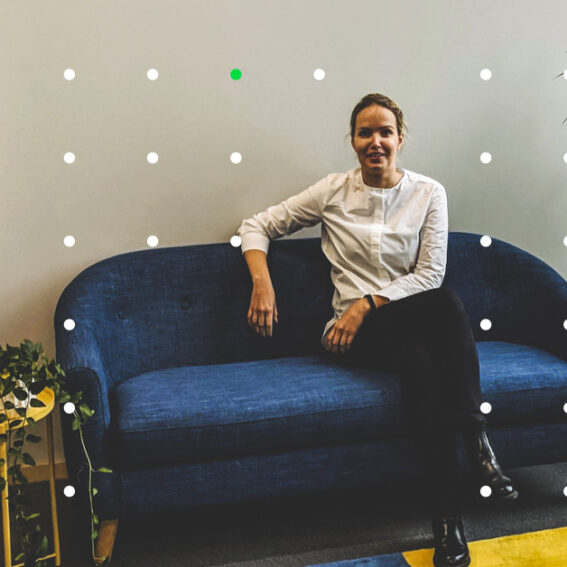 Kristiina Siljander CEO at our office in Finland